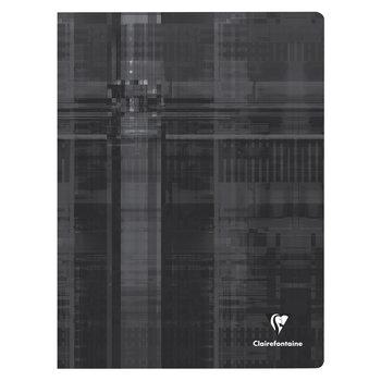 CLAIREFONTAINE Cahier piqué grands carreaux - 24x32 cm - 48 pages - Coloris aléatoires