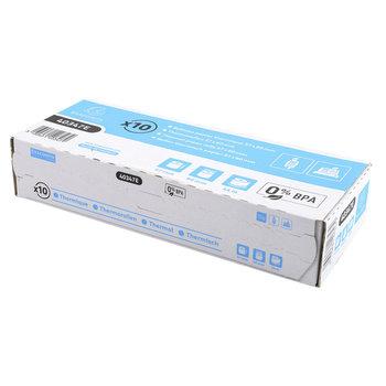 EXACOMPTA Bobine pour tickets de caisse et carte bancaire 57x60 mm - 1 pli thermique 55g/m2 sans BPA paquet de 10