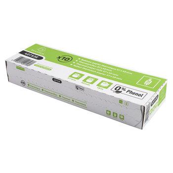 EXACOMPTA Bobine pour tickets de carte bancaire 57x40 mm - 1 pli thermique 55g/m2 sans Phenol - longue conservation paquet de 10