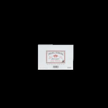 CROWN MILL 25 enveloppes doublées 11,4x16,2cm vergé Blanc 100 g.