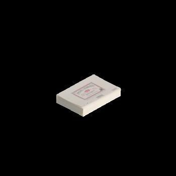 CROWN MILL 25 enveloppes doublées 11,4x16,2cm vergé Crème 100 g.