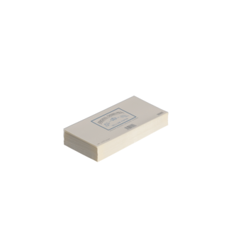 CROWN MILL 25 enveloppes doublées 11x22,5cm vélin Crème 120 g.