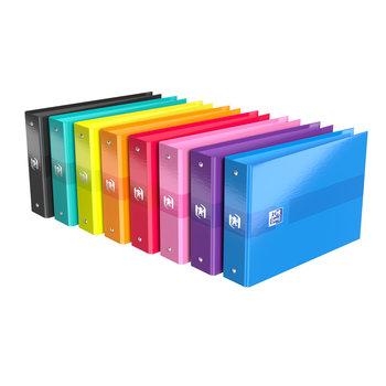 OXFORD Classeur Color Life - A5 - Dos 35 mm - 2 anneaux - Couleurs assorties