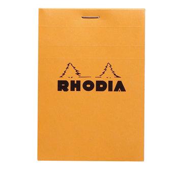 RHODIA Orange Bloc agrafé N°12 8,5x12cm 80f quadrillé 5/5 80g