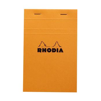 RHODIA Orange Bloc agrafé N°14 11x17cm 80f quadrillé 5/5 80g