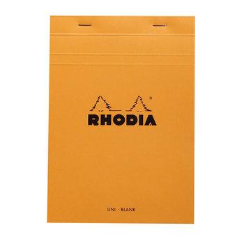 RHODIA Orange Bloc agrafé N°16 A5 80f uni 80g