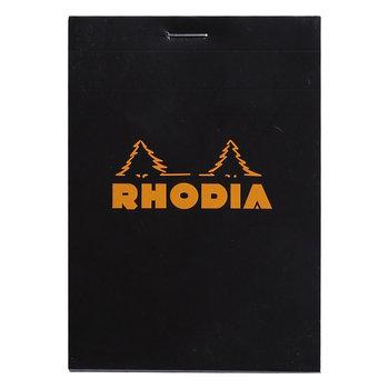 RHODIA Noir Bloc agrafé N°12 8,5x12cm 80f quadrillé 5/5 80g