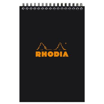 RHODIA Noir NotePad reliure intégrale A5 80F quadrillé 5/5 80g