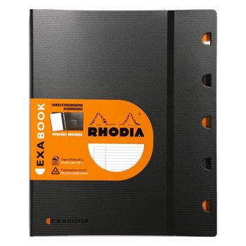 RHODIA ExaBook A4+ ligné et marge 160p +4tr
