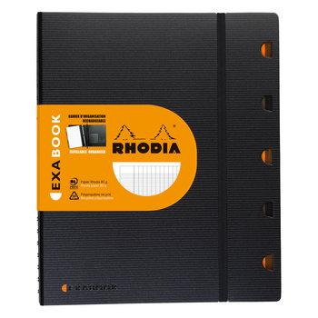 RHODIA ExaBook A4+ grands carreaux et marge 160p +4tr