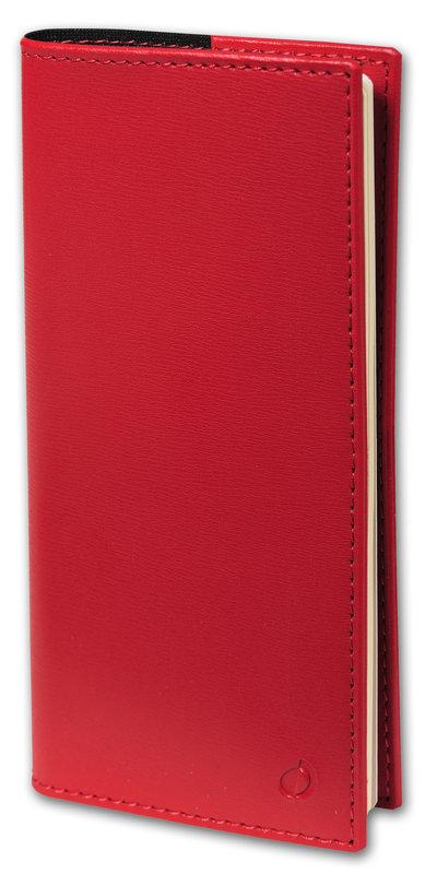 QUO VADIS Agenda scolaire semainier horizontal et notes Italsept S rep Soho 8,8x17cm rouge