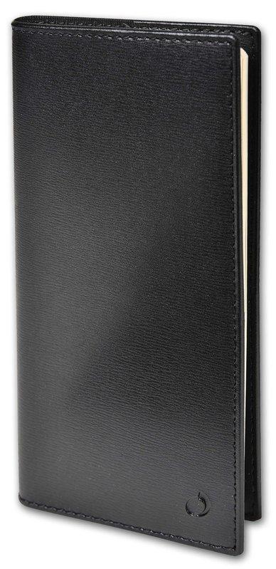 QUO VADIS Agenda scolaire semainier horizontal et notes Italsept S rep Soho 8,8x17cm noir