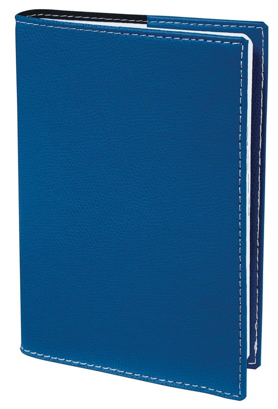 QUO VADIS Agenda scolaire 1 jour par page Textagenda Club 12x17cm bleu roi