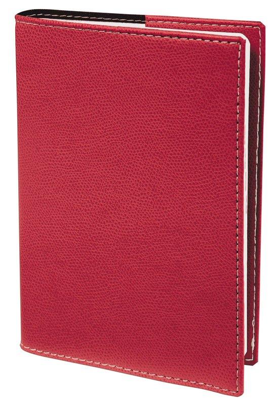 QUO VADIS Agenda scolaire 1 jour par page Textagenda Club 12x17cm rouge