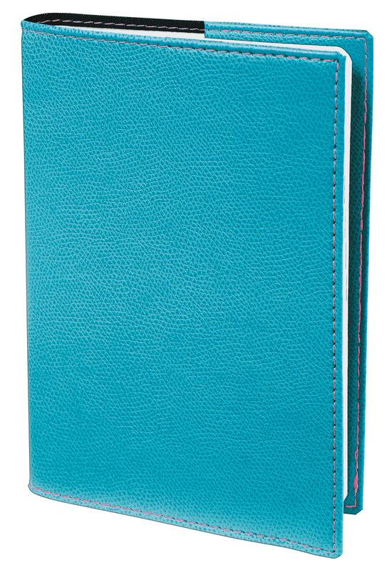 QUO VADIS Agenda scolaire 1 jour par page Textagenda Club 12x17cm turquoise