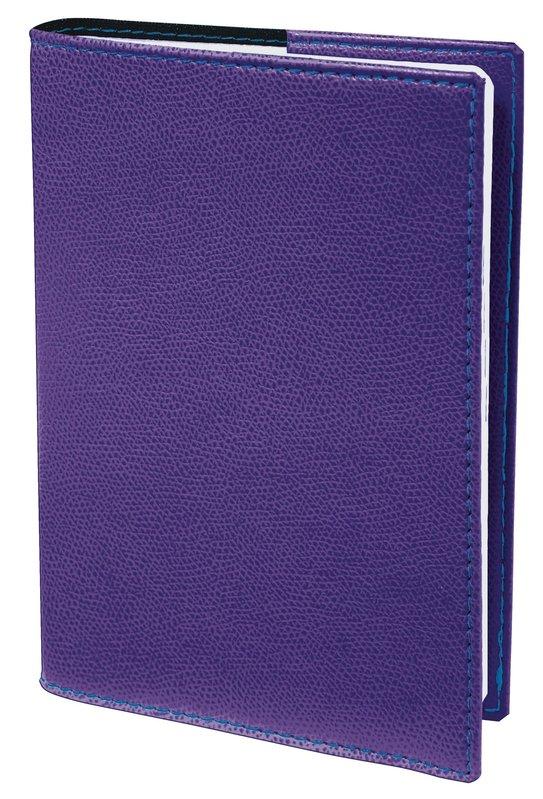QUO VADIS Agenda scolaire 1 jour par page Textagenda Club 12x17cm violet