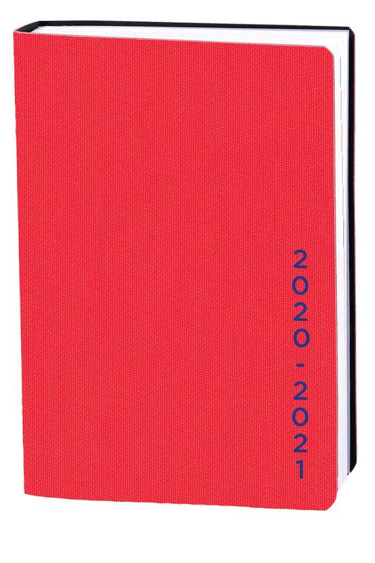 QUO VADIS Agenda scolaire 1 jour par page Eurotextagenda Galaxy 12x17cm rouge