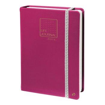 QUO VADIS Life Journal Carnet 21 dots prune