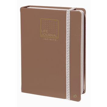 QUO VADIS Life Journal Carnet 21 Infinite taupe