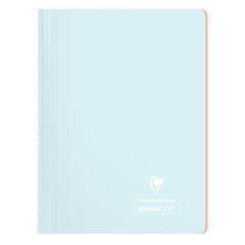 CLAIREFONTAINE Koverbook Blush reliure intégrale polypropylène bicolore petits carreaux  margé - 21x29,7 cm - 160 pages - Coloris aléatoires