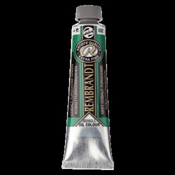 REMBRANDT Huile Extra-Fine 40 ml Vert Turquoise de Cobalt