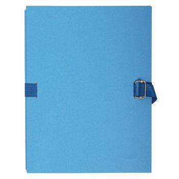 EXACOMPTA Chemise dos extensible papier - 24x32cm - Bleu Clair