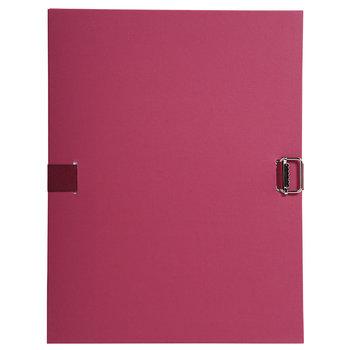 EXACOMPTA Chemise dos extensible papier - 24x32cm - Bordeaux