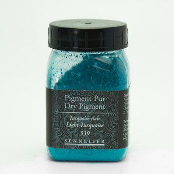 SENNELIER Pigment Pot 200ml Turquoise Clair - 60g
