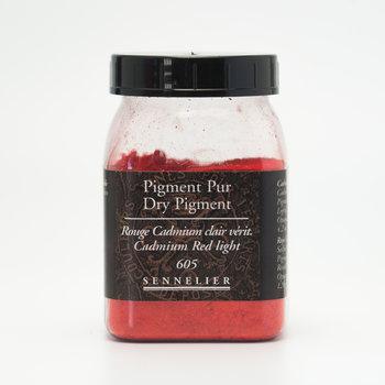 SENNELIER Pigment Pot 200ml Rouge Cadmium Clair Véritable - 120g