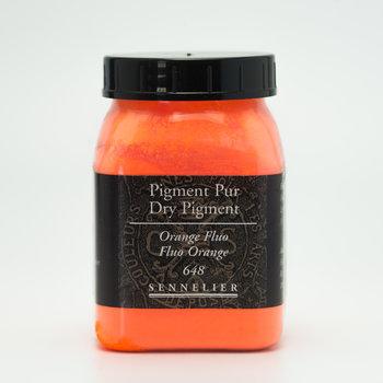 SENNELIER Pigment Pot 200ml Orange Fluo - 100g