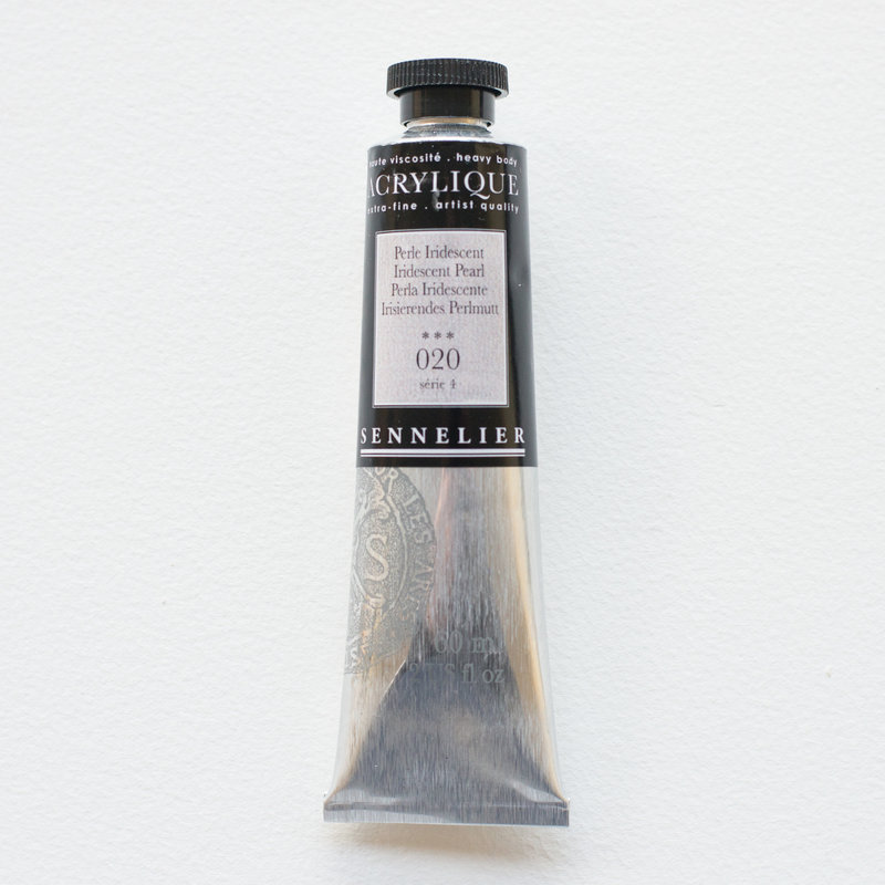 SENNELIER Acrylique Extra fine Tube 60ml Perle Iridescent S4