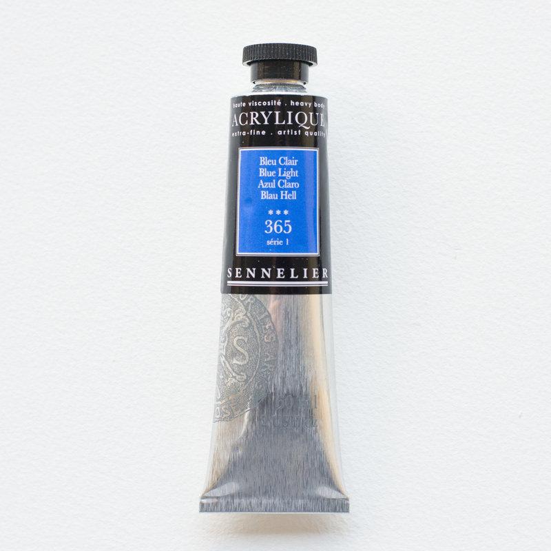 SENNELIER Acrylique Extra fine Tube 60ml Bleu Clair S1
