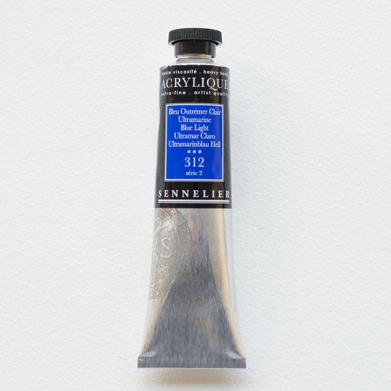 SENNELIER Acrylique Extra fine Tube 60ml Bleu Outremer Clair S2