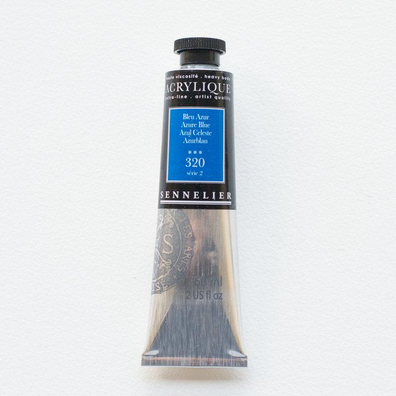 SENNELIER Acrylique Extra fine Tube 60ml Bleu Azur S2
