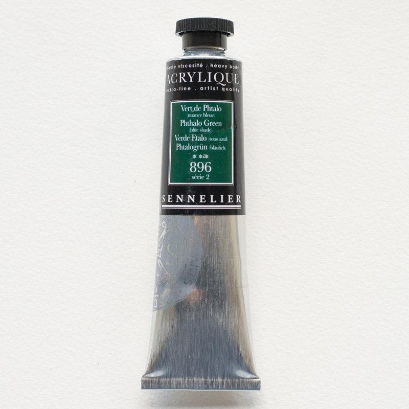 SENNELIER Acrylique Extra fine Tube 60ml Vert de Phtalo Nuance Bleue S2