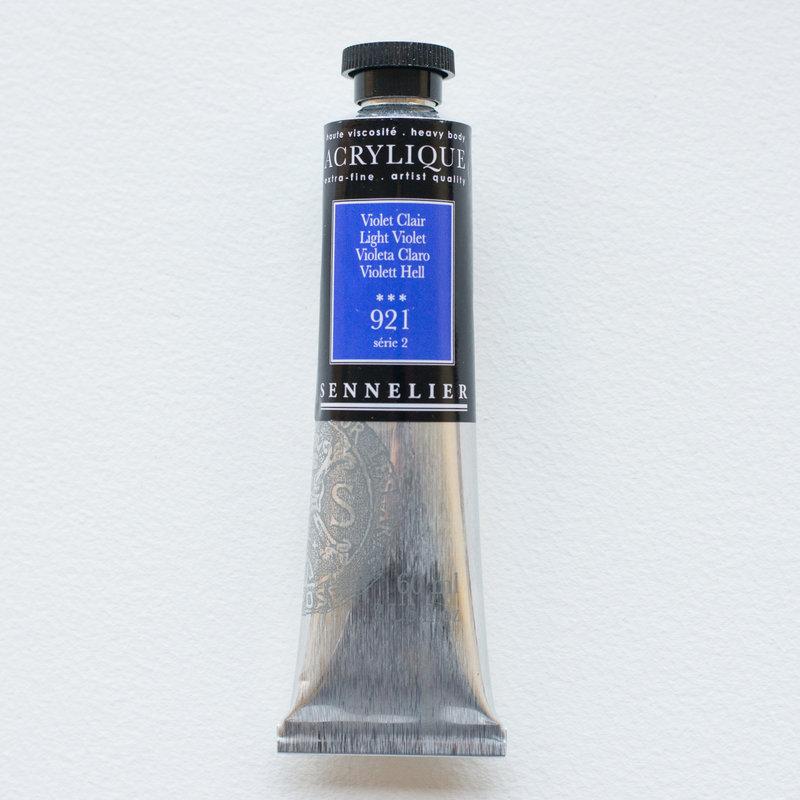 SENNELIER Acrylique Extra fine Tube 60ml Violet Clair S2