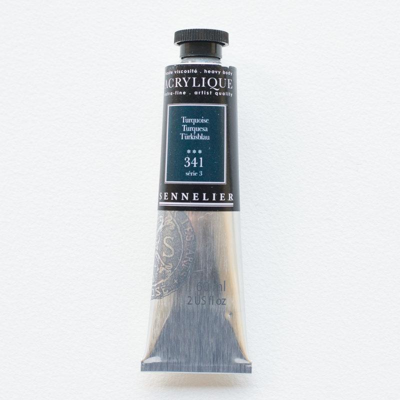 SENNELIER Acrylique Extra fine Tube 60ml Turquoise S3