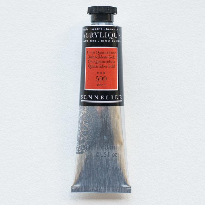 SENNELIER Acrylique Extra fine Tube 60ml Or de Quinacridone S4