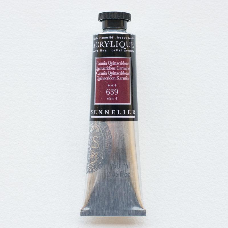 SENNELIER Acrylique Extra fine Tube 60ml Carmin Quinacridone S4