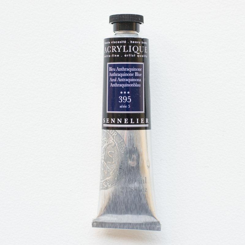 SENNELIER Acrylique Extra fine Tube 60ml Bleu Anthraquinone S5