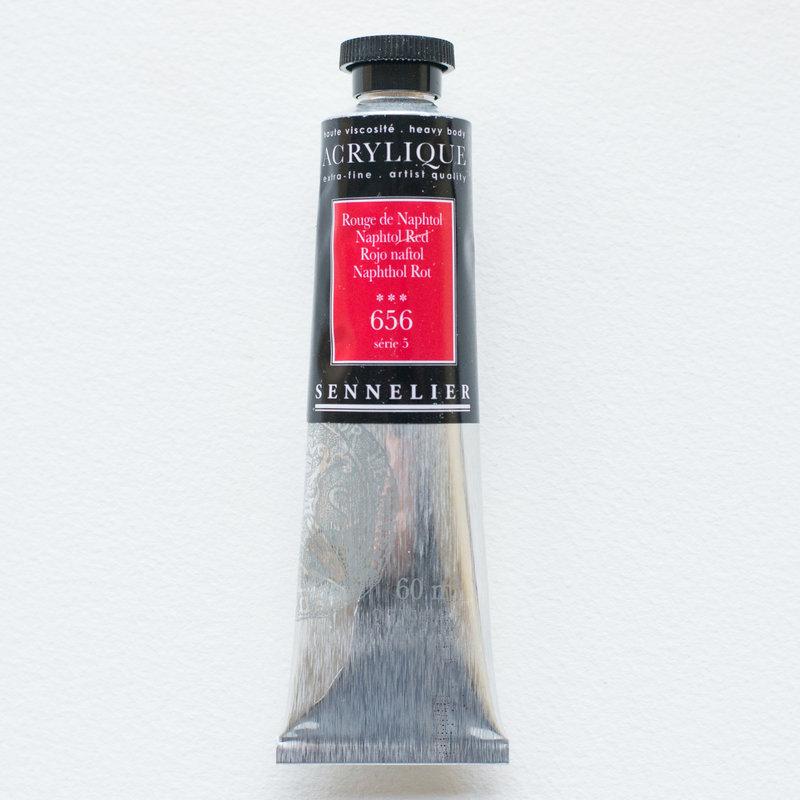 SENNELIER Acrylique Extra fine Tube 60ml Rouge de Naphthol S5