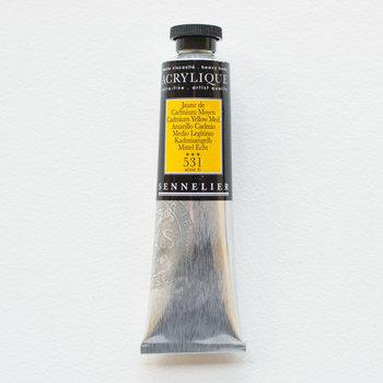 SENNELIER Acrylique Extra fine Tube 60ml Jaune de Cadmium Foncé S6