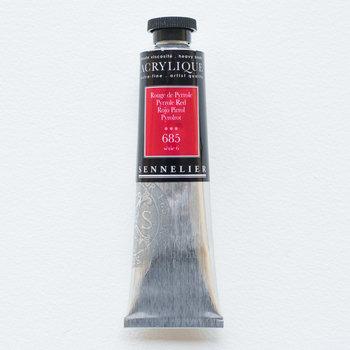 SENNELIER Acrylique Extra fine Tube 60ml Rouge de Pyrrole S6