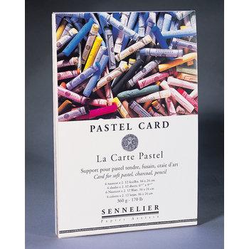 SENNELIER Bloc Pastel Pastel card 16x24cm 12 feuilles