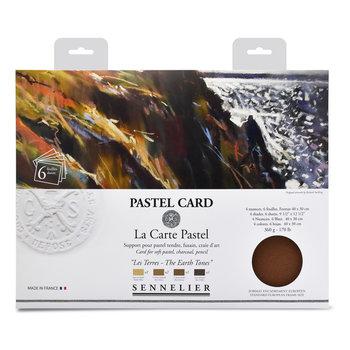 SENNELIER Pochette Pastel Card Les terres