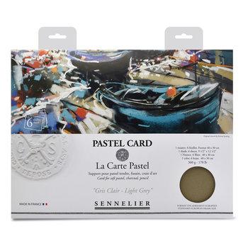 SENNELIER Pochette Pastel Card Monochrome Gris Clair