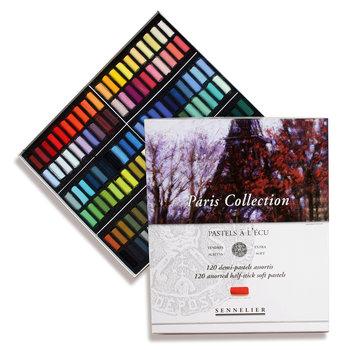 SENNELIER Etui carton Pastel Ecu Paris collection 120 Demi pastels