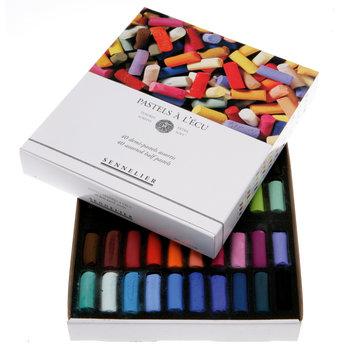 SENNELIER Etui carton Pastel Ecu 40 Demi pastels