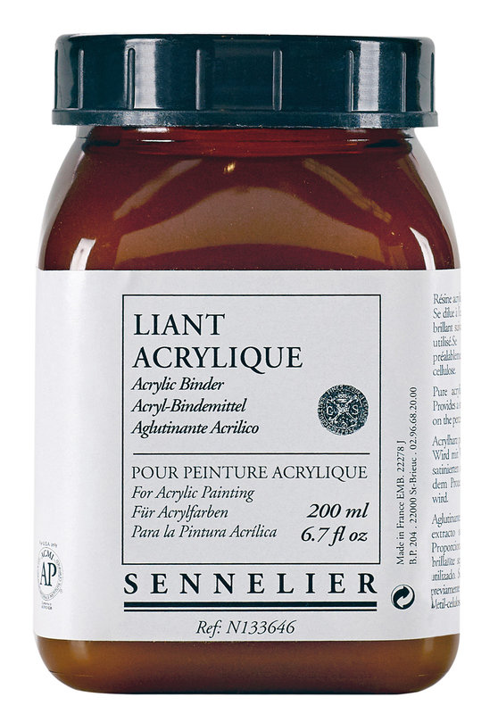 SENNELIER Additif Liant Acrylique 200ml