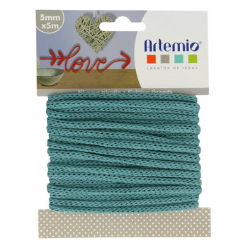 ARTEMIO Fil Tricotin 5Mm X 5M Turquoise